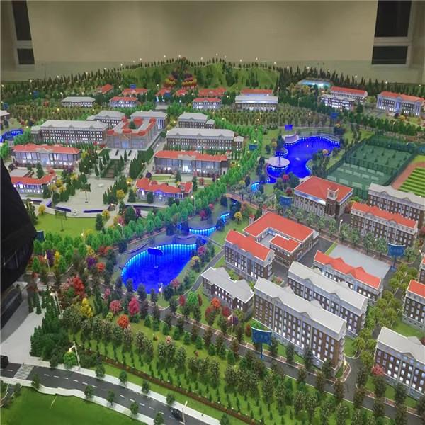 甘肃省公安厅301工程警察学校规划模型
