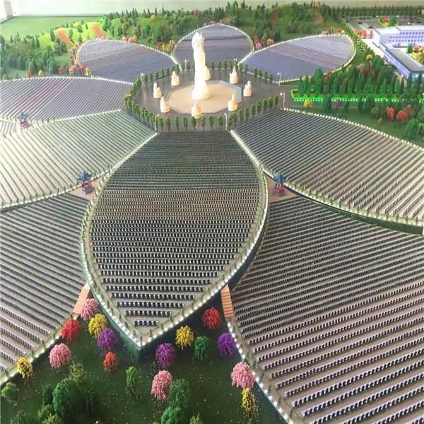 肃州区北山生态园林人文福寿园