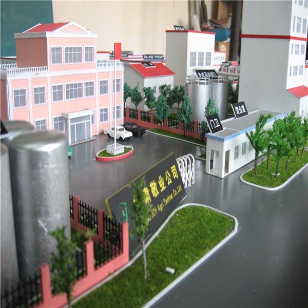 甘肃敬业公司厂区模型