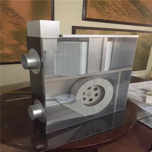 机械模型制作对比-真机
