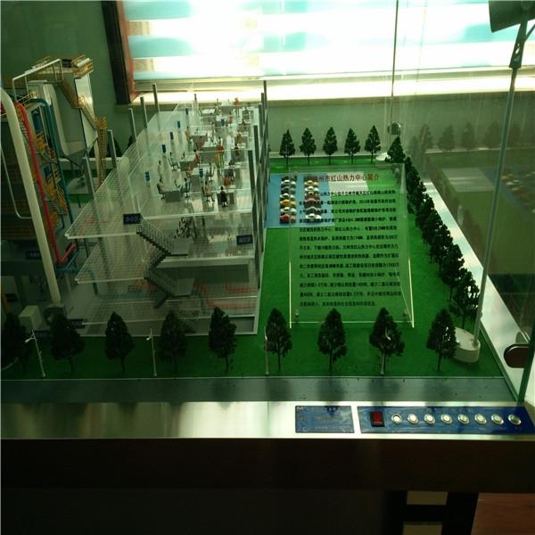 兰州市红山热力中心模型