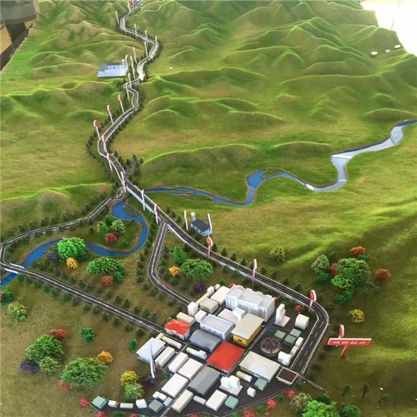 玛久公路模型