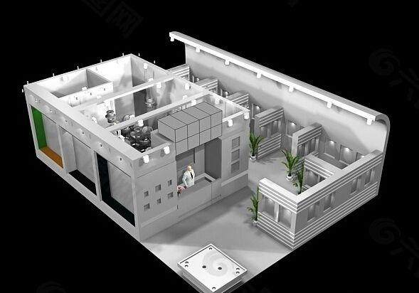 上海展示展览模型